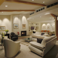 Contemporary Living Room by Frederick Gibson + Associates Architecture