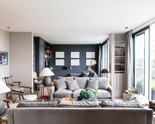 Grey Sofa Living Room Design Ideas Remodels Photos Houzz