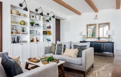 Houzz Tour: A Bright Apartment with a Cosy Mix of Materials