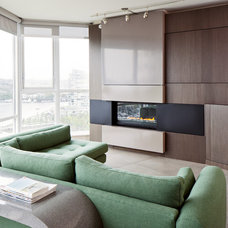 Contemporary Living Room by Natural Balance Home Builders