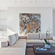 Modern Family Room by MORE design+build