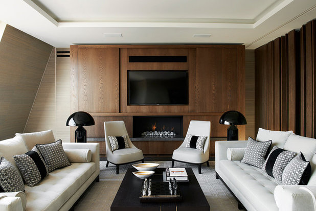 Contemporary Living Room by Honky