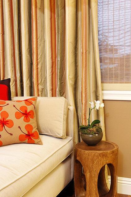 Eclectic Living Room by Rachel Winokur Interiors