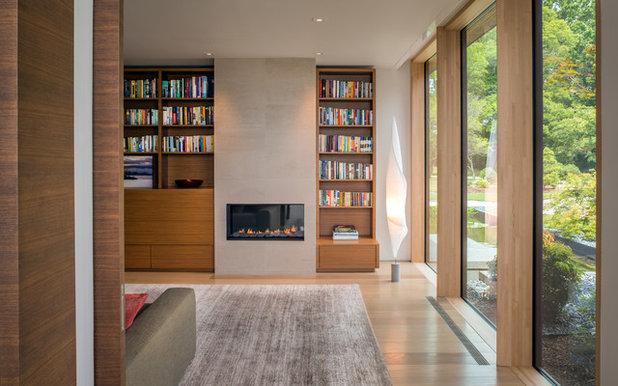 Modern Vardagsrum by ZEN Associates, Inc.