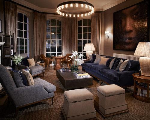 Rustic london living room design ideas remodels photos for London living room ideas