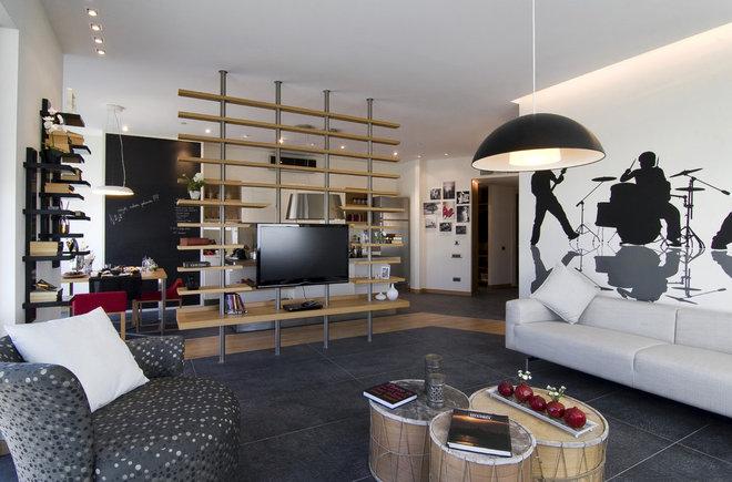 Modern Living Room by Neslihan Pekcan/Pebbledesign