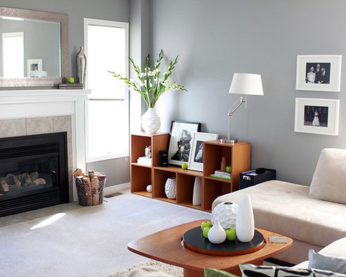 Benjamin moore storm home design ideas pictures remodel - Contemporary paint colors for living room ...