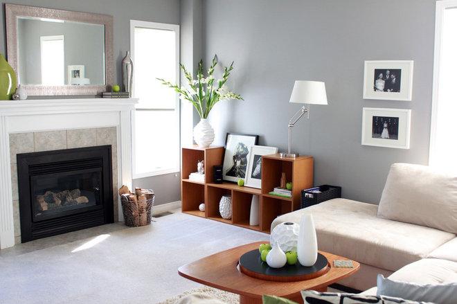 Contemporary Living Room by Leclair Decor