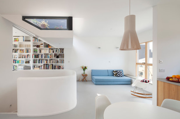 Contemporary Living Room by Scenario Architecture