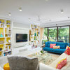 Houzz Tour: Paintings by Their Daughter Take Pride of Place