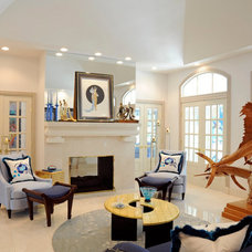 Contemporary Living Room by PETER A ROBINSON REMODELING LLC