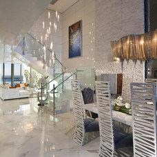 Contemporary Living Room by Pfuner Design - Interior Design Miami