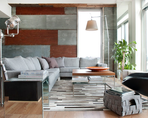 Corrugated walls home design ideas pictures remodel and decor