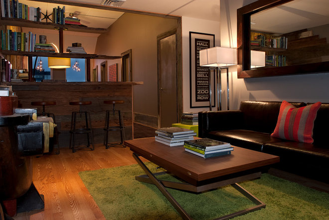 Contemporary Living Room by Groundswell Design Group, LLC