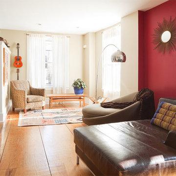 Philadelphia Row Home, East Falls