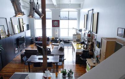 My Houzz: Creative Reuse Befits a Montreal Live-Work Loft