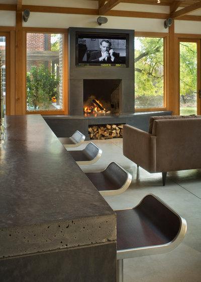 Contemporain Salon by ConcreteWorks East