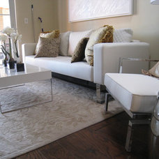 Contemporary Living Room by Westhill Furnishings AD