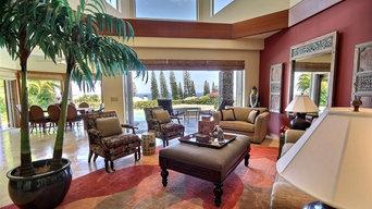 Photo project of beautiful Maui home taken 2013