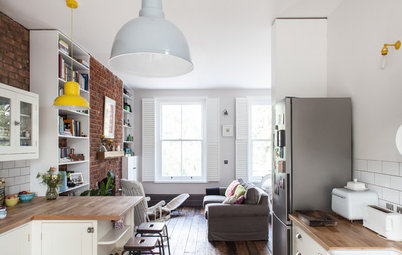 Houzz Tour: Former Squatters' Unit Now a Handsome London Home