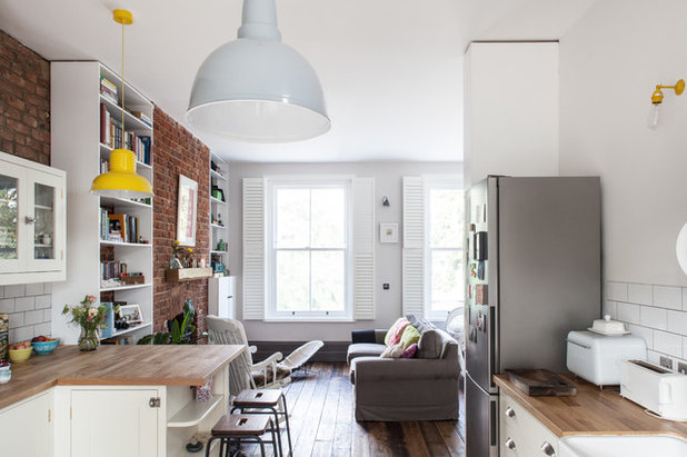 Houzz Tour A Split Level Flat In London With An Open Plan Layout