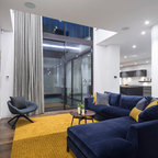 Tv Room Contemporary Living Room London By Lli Design