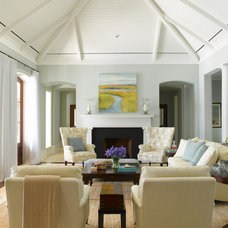 Traditional Living Room by Gridley + Graves Photographers