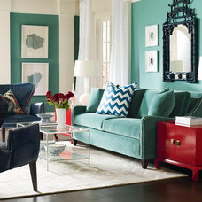 Eclectic Living Room by Classic Interiors