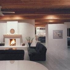 Contemporary Living Room by Greg Allegretti