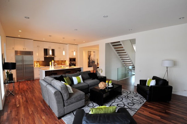 Contemporary Living Room by Fifth Element Homes