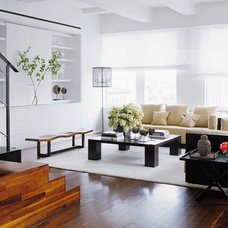 Contemporary Living Room Piazza Apartment