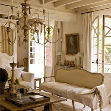 Traditional Living Room by Cornerstone Home Interiors