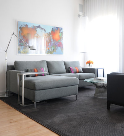 Contemporary Living Room by Lee Lormand Design