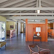 Midcentury Living Room by HartmanBaldwin Design/Build