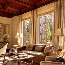 Traditional Living Room by Charlie Barnett Associates