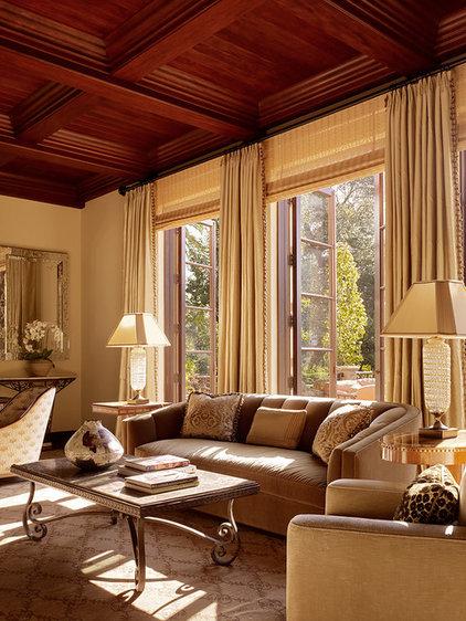 Traditional Living Room by Charlie Barnett Associates