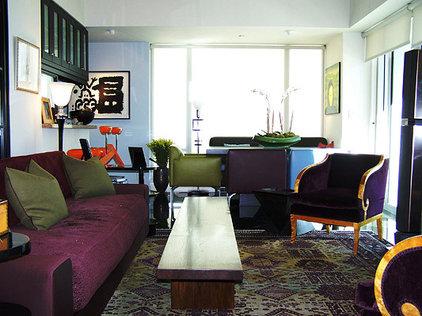 Contemporary Living Room by pierre senechal