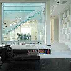 Modern Living Room by Vanguarda Architects