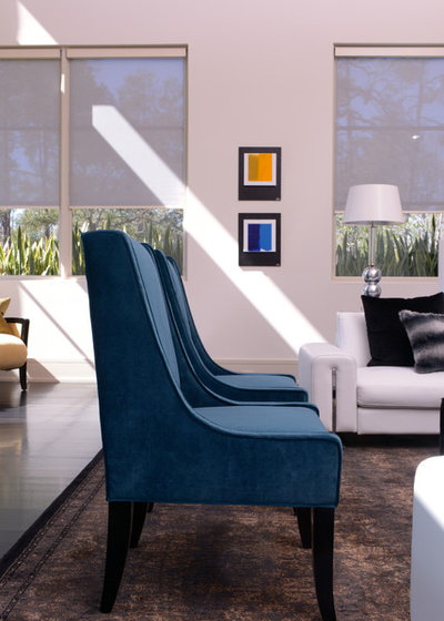 Contemporary Living Room by Cantoni