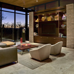contemporary living room by John Senhauser Architects