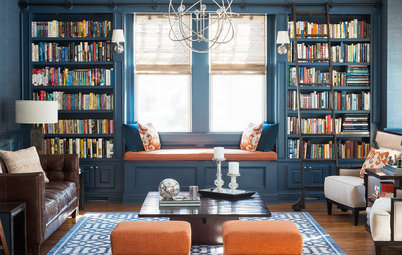 11 Beautiful Ways to Style a Bookcase