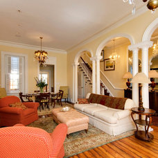 Traditional Living Room by Foster-Willson Company, Inc