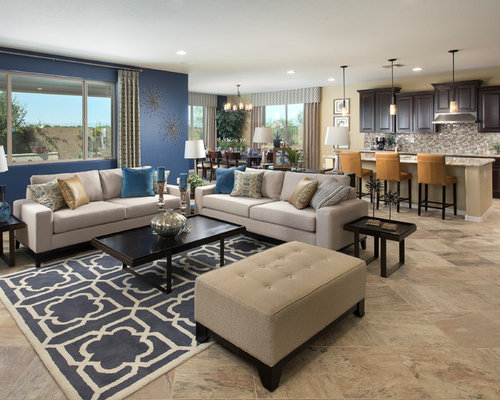 Blue Accent Wall Home Design Ideas Pictures Remodel and