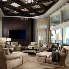 Transitional Living Room by Straticon