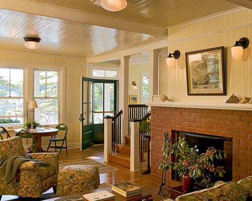 Beadboard fireplace home design ideas pictures remodel and decor for Beadboard ideas for living room
