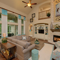 Traditional Living Room by J. Patrick Homes