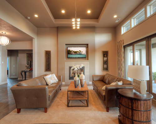 Ceiling bulkheads houzz for Family room definition