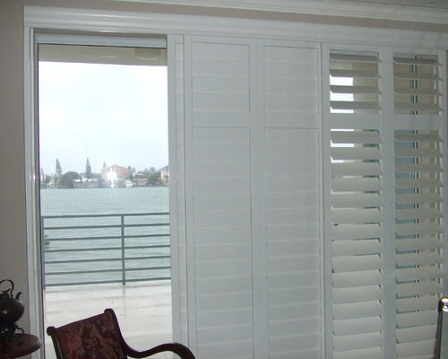 Glass Sliders Window Treatments