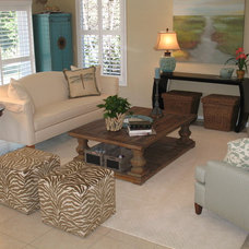Traditional Living Room by Mastercraft Shutters & Blinds