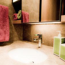 Contemporary Living Room by Alexandra Lauren Designs